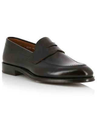 Horse shiny leather loafers DOUCAL'S