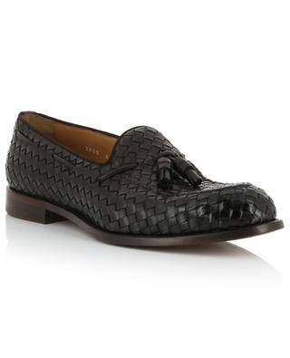 Intreccio woven leather loafers with tassels DOUCAL'S
