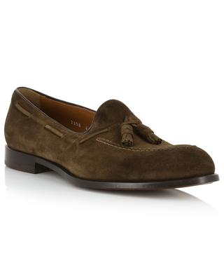 Light Point suede loafers with tassel DOUCAL'S