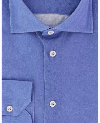 Suntory cotton piqué long-sleeved shirt MAURIZIO BALDASSARI