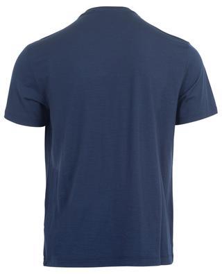 Kurzarm-T-Shirt mit Rundhals Active Wool Jersey MAURIZIO BALDASSARI