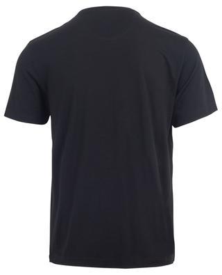 Active Wool Jersey short sleeved round neck T-shirt MAURIZIO BALDASSARI
