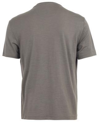 T-shirt à col rond et manches courtes Active Wool Jersey MAURIZIO BALDASSARI