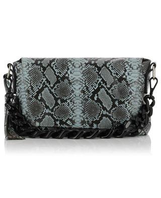 Africa snake skin effect leather bag GIANNI CHIARINI