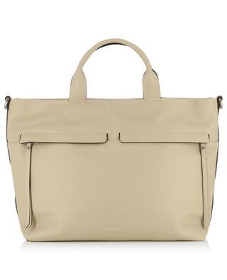 Grosse Handtasche aus genarbtem Leder GIANNI CHIARINI