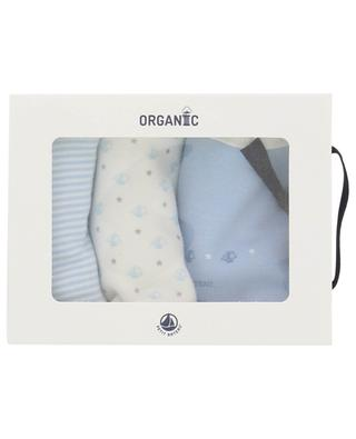Set of three bibs in organic cotton PETIT BATEAU