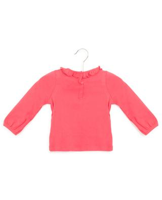 Long-sleeved T-shirt with bunny and butterfly print PETIT BATEAU