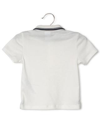 Jersey-Polohemd mit Bootprint Fastiche PETIT BATEAU