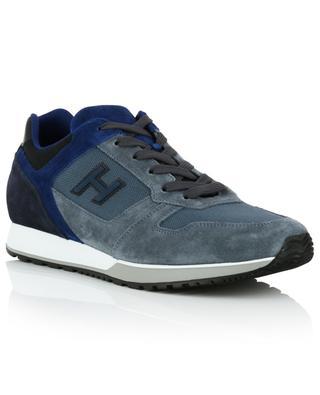 Sneakers aus Nubukleder und technischem Stoff H321 HOGAN