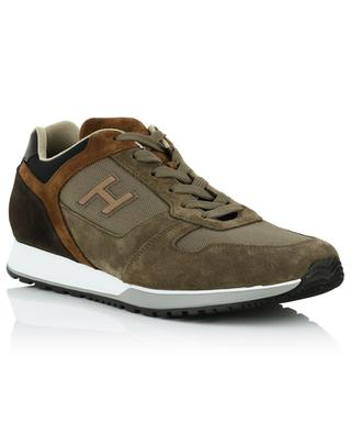 H321 nubuk leather and technical fabric sneakers HOGAN