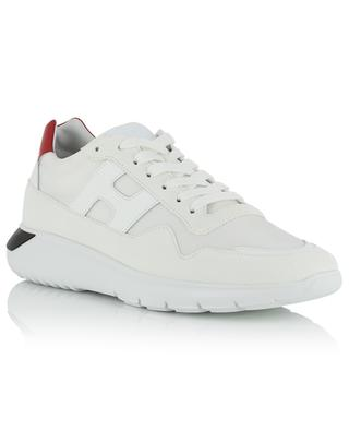 Interactive3 leather, suede and technical fabric sneakers HOGAN