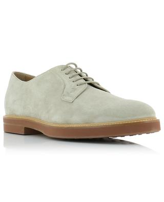 Suede lace-up shoes TOD'S