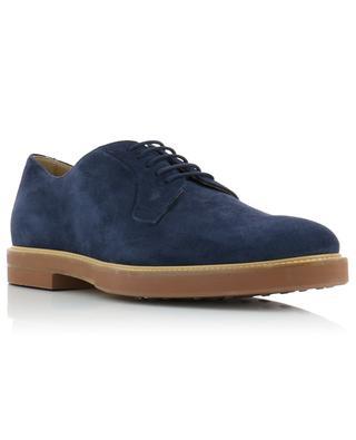 Chaussures à lacets en daim TOD'S