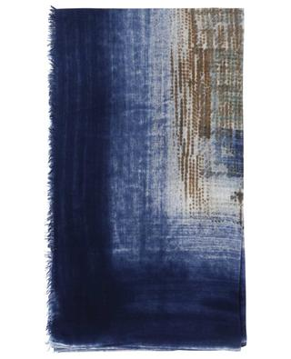 Cerboli print fine cashmere and silk scarf 19 ANDREA'S 47