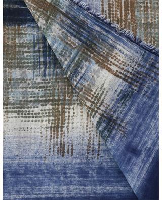 Feiner Schal aus Kaschmir und Seide mit Print Cerboli 19 ANDREA'S 47
