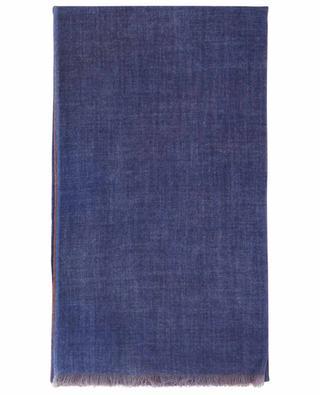 Georgina Rev. fine bicolour cashmere scarf 19 ANDREA'S 47