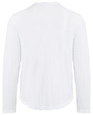 T-shirt en coton à manches longues JAMES PERSE