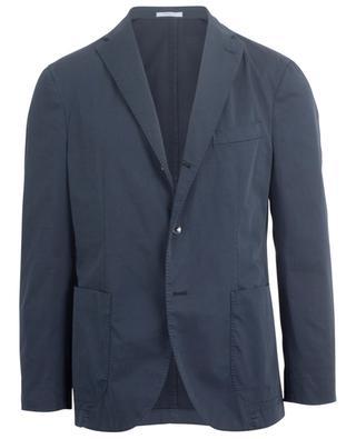 Single-breasted cotton blazer BOGLIOLI