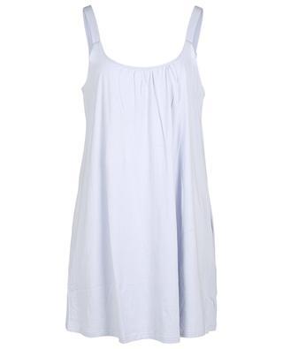 Kayla strappy organic cotton sleepshirt SKIN