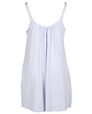 Chemise de nuit à bretelles en coton bio Kayla SKIN