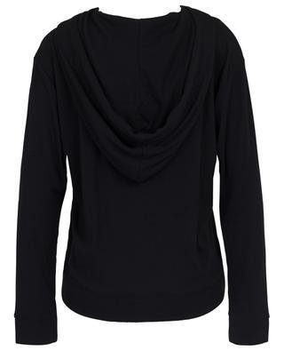 Nirvana cotton and modal blend hoodie SKIN
