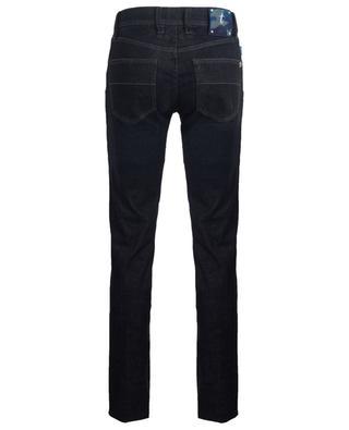 Leonardo Light Black Stampato faded slim fit jeans TRAMAROSSA