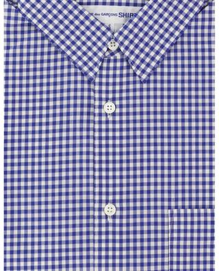 Kurzarm-Hemd mit Vichy-Karos COMME DES GARCONS SHIRT