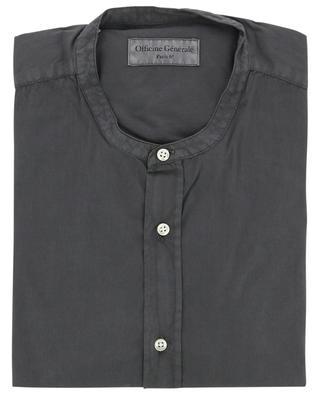 Hemd aus Seersucker mit Offizierskragen Gaspard OFFICINE GENERALE
