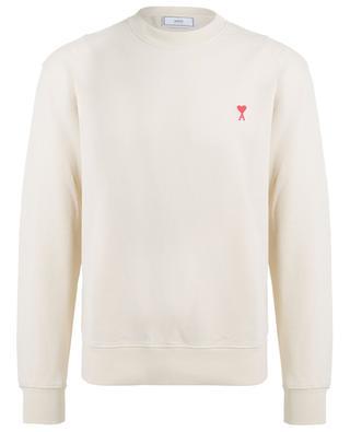 Sweat-shirt slim en coton Ami de Coeur AMI