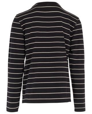 Gestreiftes Langarm-T-Shirt aus Jersey Ami de Coeur AMI