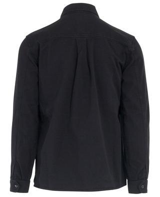 Oberhemd aus Gabardine mit Brusttaschen AMI