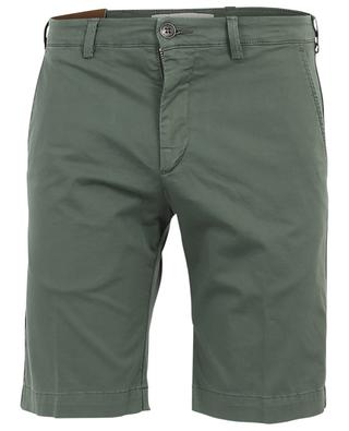 Cotton stretch Bermuda shorts B SETTECENTO