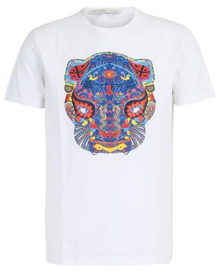 Baumwoll-T-Shirt mit handgemaltem Design ETRO