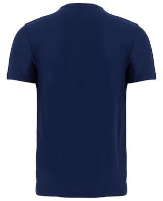 T-Shirt mit Stickerei in Samt-Optik Cocktail ETRO