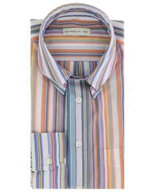 Chemise rayée à manches longues en coton ETRO