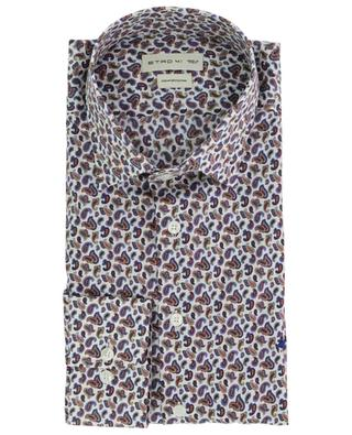 Comfortetro paisley detail printed slim fit shirt ETRO