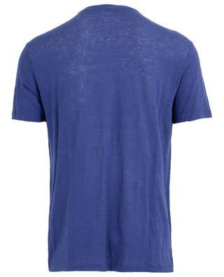 T-shirt en jersey de lin brodé Pegaso ETRO