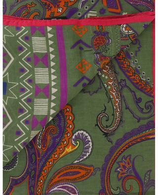 Leichter Schal mit Ethno-Print Shaal-Nur ETRO
