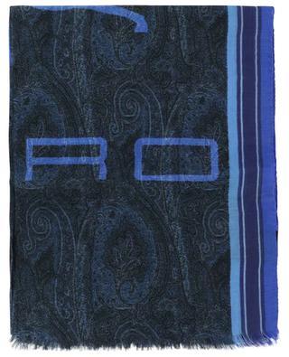 Stola aus Kaschmirmix mit Paisley-Print ETRO