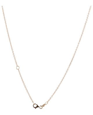 Amour pink gold necklace with diamond GBYG