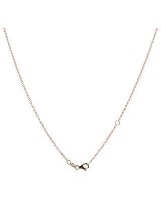 Collier en or rose, saphirs et diamants Cabochons GBYG