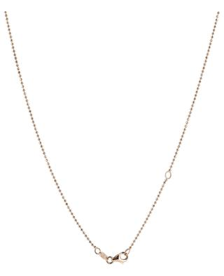 Gouttes pink gold necklace with precious stones GBYG