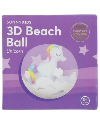 Unicorn 3D inflatable children's beach ball SUNNYLIFE