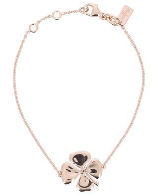 Trèfle pink gold plated bracelet AVINAS