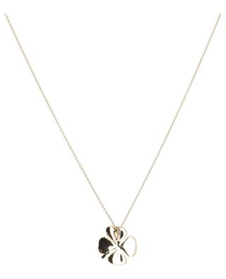 Trèfle yellow gold plated necklace AVINAS