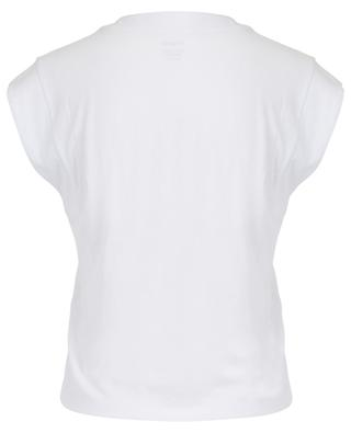 Ärmelloses T-Shirt aus Baumwolle Le High Rise V FRAME
