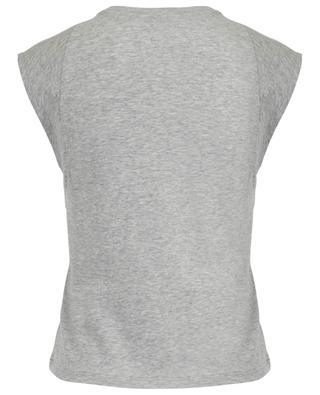 Ärmelloses T-Shirt aus Baumwolle Le High Rise Muscle FRAME