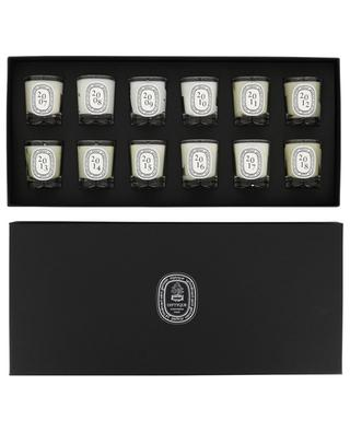 Set of twelve scented candles DIPTYQUE