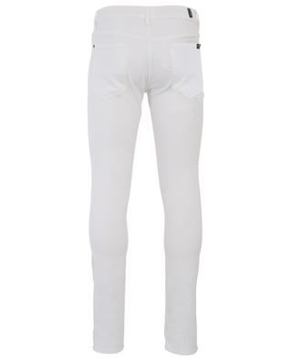 Weisse Skinny-Fit-Jeans Ronnie Luxe Performance White 7 FOR ALL MANKIND