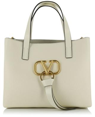 V-RING grained leather handbag VALENTINO